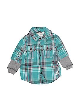 Genuine Kids from Oshkosh Long Sleeve Button-Down Shirt Size 12 mo