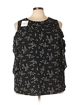 Talora Short Sleeve Blouse Size 4X (Plus)