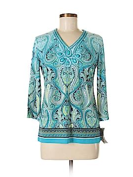 JM Collection 3/4 Sleeve Blouse Size P