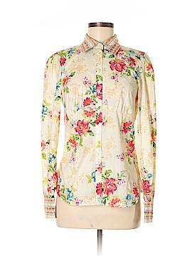 Eye Long Sleeve Button-Down Shirt Size 6