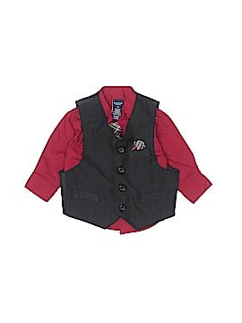 Jonathan Strong Long Sleeve Button-Down Shirt Size 12 mo