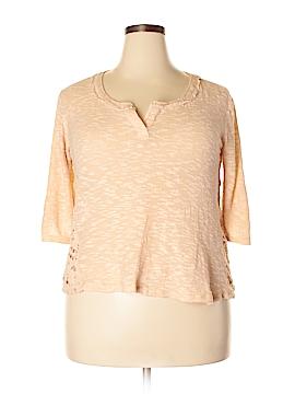 Xhilaration Short Sleeve Top Size 2X (Plus)
