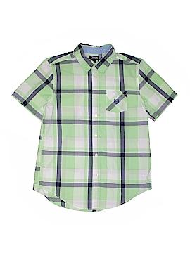 Chaps Short Sleeve Button-Down Shirt Size 18