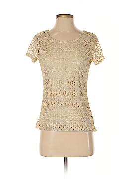 Elementz Short Sleeve Blouse Size S (Petite)