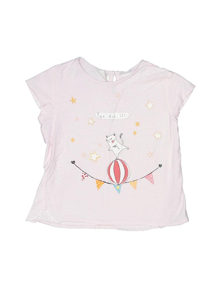 Zara Baby Girls Short Sleeve T-Shirt Size 3 - 4
