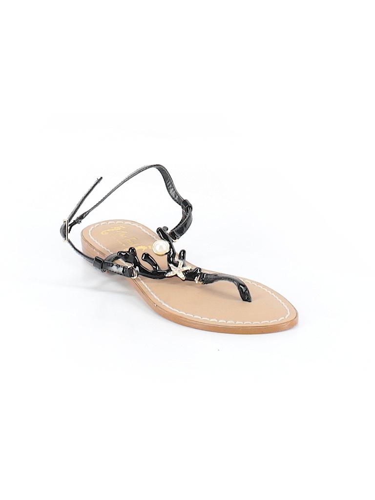 91a2c580c Miss Trish for Target Solid Black Sandals Size 7 - 66% off