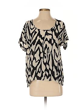 Gemma Short Sleeve Silk Top Size XS