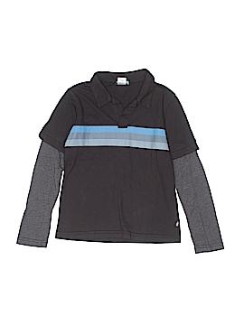 City Threads Long Sleeve Polo Size 7