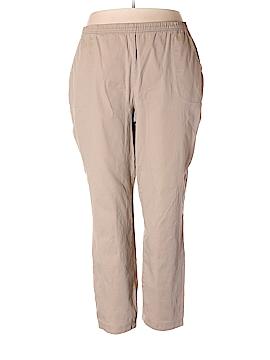 Croft & Barrow Casual Pants Size 2X (Plus)