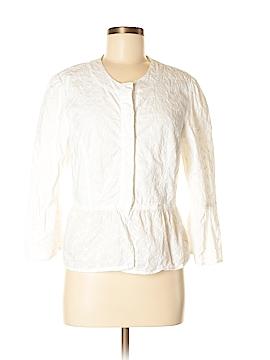 Live A Little Long Sleeve Button-Down Shirt Size L