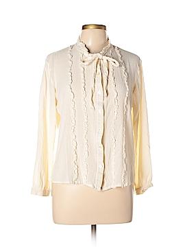 J.jill Long Sleeve Blouse Size L (Petite)