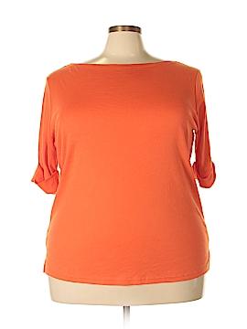 Ralph Lauren 3/4 Sleeve T-Shirt Size 3X (Plus)