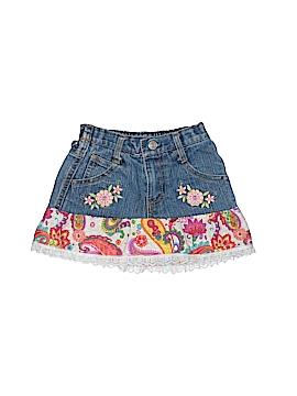 2be Real Denim Skirt Size 2T