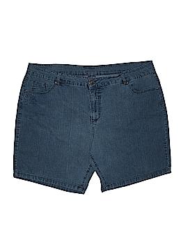 Basic Editions Denim Shorts Size 22 (Plus)