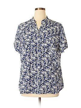 Laura Scott Short Sleeve Blouse Size 16 - 18