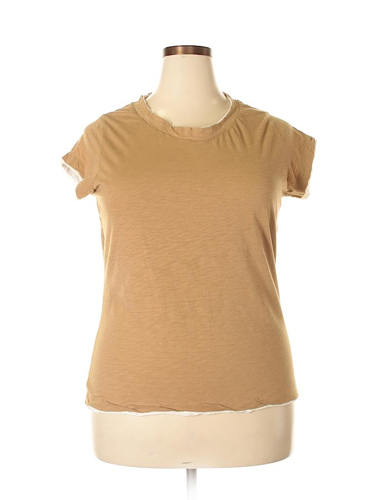 Secret Treasures Women Short Sleeve Top Size 2X (Plus)