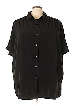 Roaman's Short Sleeve Blouse Size 3X (Plus)