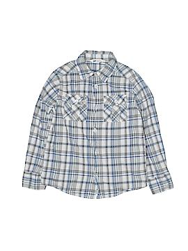 H&M Long Sleeve Button-Down Shirt Size 5 - 6
