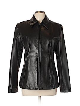 DANIER Leather Jacket Size 10 - 12