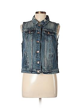 Dollhouse Denim Vest Size L