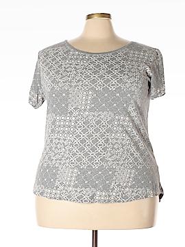 Great Northwest Indigo Short Sleeve T-Shirt Size 2X (Plus)
