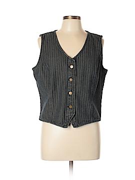NY Jeans Denim Vest Size XL