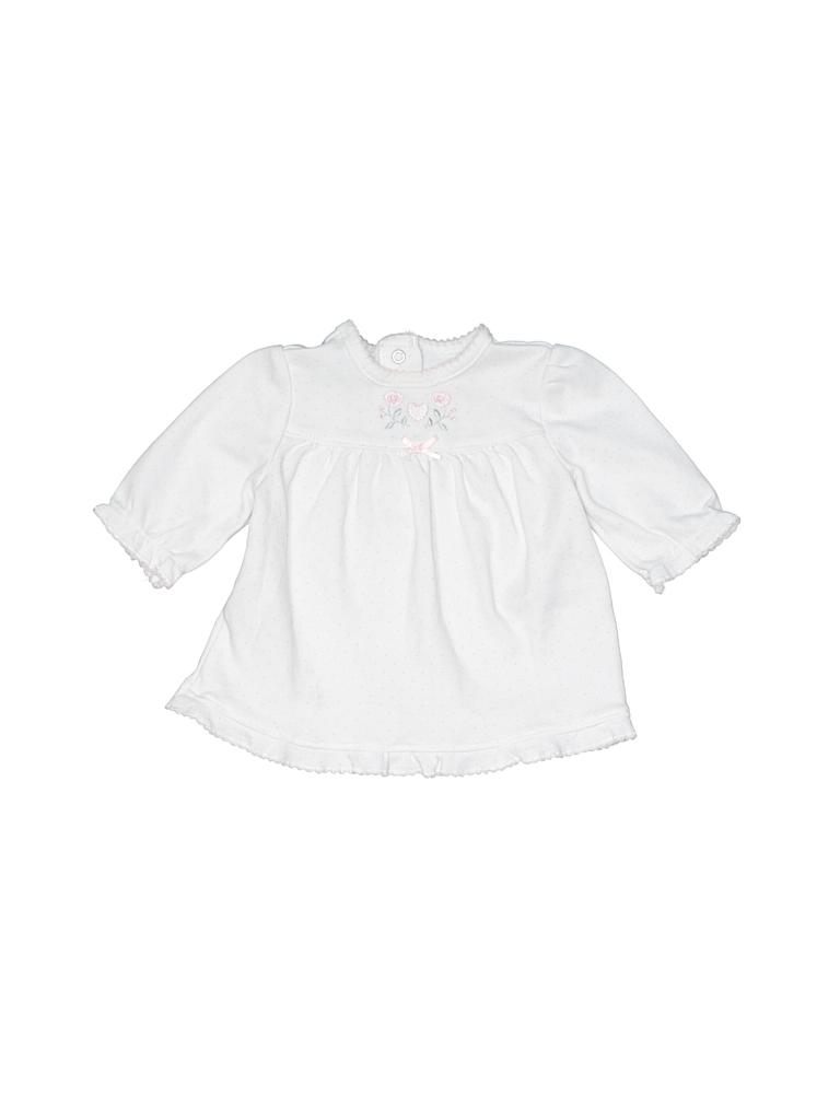 Little Me Girls Long Sleeve Top Newborn