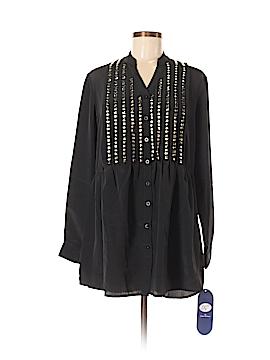 DG^2 by Diane Gilman Long Sleeve Blouse Size M