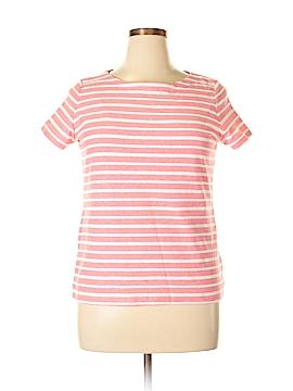 Kim Rogers Short Sleeve T-Shirt Size L (Petite)