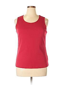 New Directions Sleeveless T-Shirt Size L (Petite)
