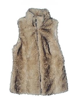 Zara Kids Faux Fur Vest Size X-Large (Youth)