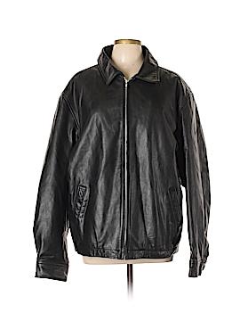 Gap Leather Jacket Size XL