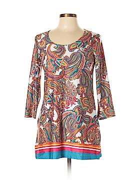 Slinky Brand 3/4 Sleeve Blouse Size XS