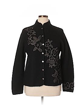 Carole Little Wool Cardigan Size XL