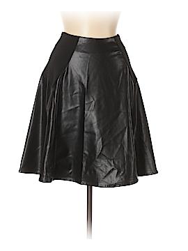 Alex + Alex Faux Leather Skirt Size XS
