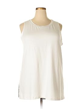LOGO Sleeveless T-Shirt Size 2X (Plus)