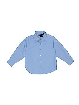 Mark Jason Long Sleeve Button-Down Shirt Size 4