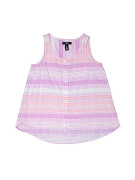 Gap Kids Outlet Sleeveless Button-Down Shirt Size L (Kids)
