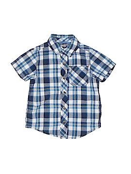 Arizona Jean Company Short Sleeve Button-Down Shirt Size 3T