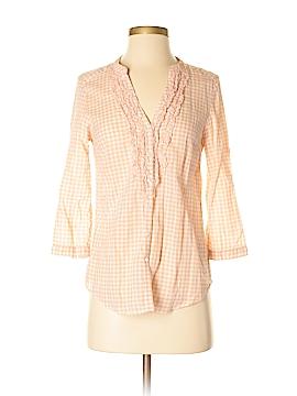 LC Lauren Conrad 3/4 Sleeve Button-Down Shirt Size XS
