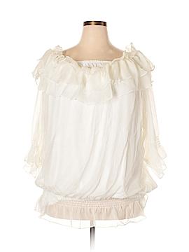 City Chic 3/4 Sleeve Blouse Size 26 (Plus)