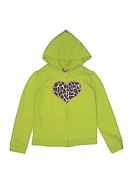 JK Kids Zip Up Hoodie Size 6X