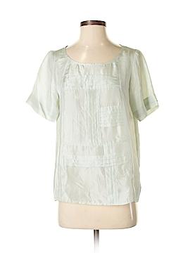 Winter Silks Short Sleeve Silk Top Size S