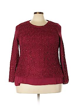 DressBarn Long Sleeve Top Size 2X (Plus)