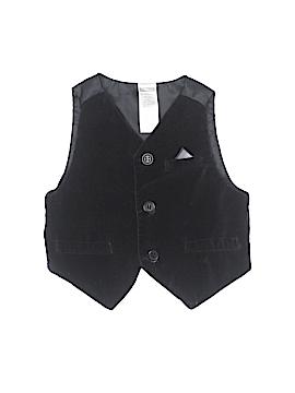 George Tuxedo Vest Size 0-3 mo
