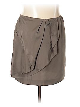 Garnet Hill Silk Skirt Size 18 (Plus)