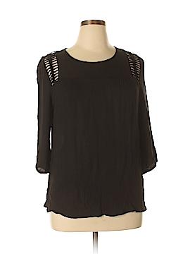 Q&A 3/4 Sleeve Blouse Size 1X (Plus)