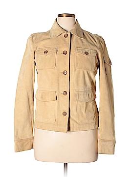 J. Crew Leather Jacket Size L