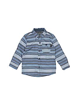 DKNY Long Sleeve Button-Down Shirt Size 18 mo