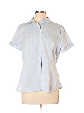 Covington Short Sleeve Button-Down Shirt Size XL (Petite)